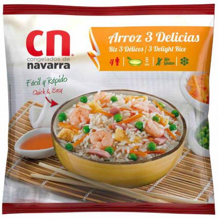 Arroz 3 delicias bolsa 450gr.