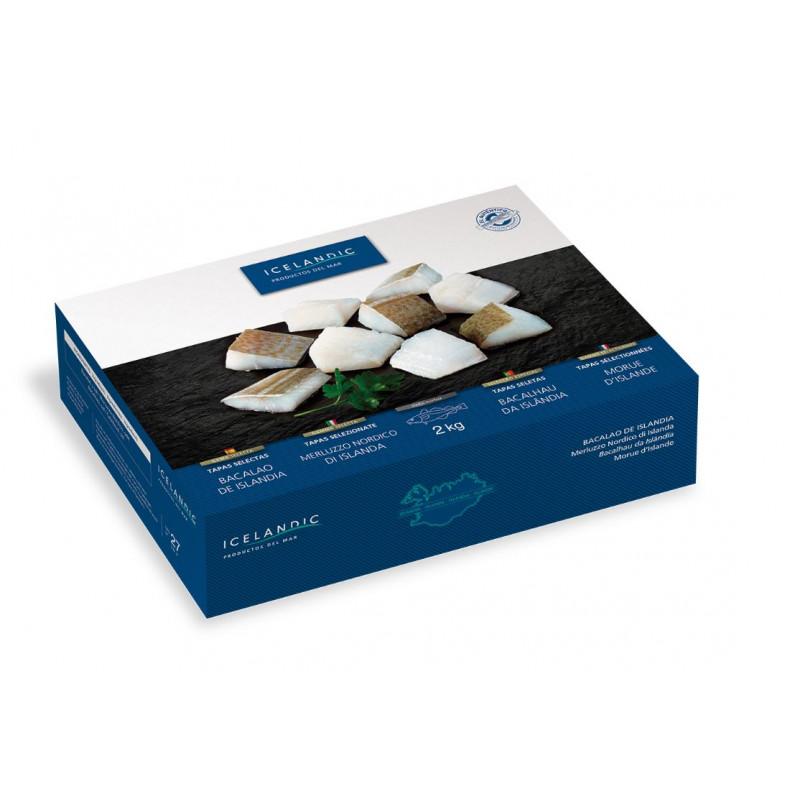 Bacalao Tapas Selectas caja 2kg.