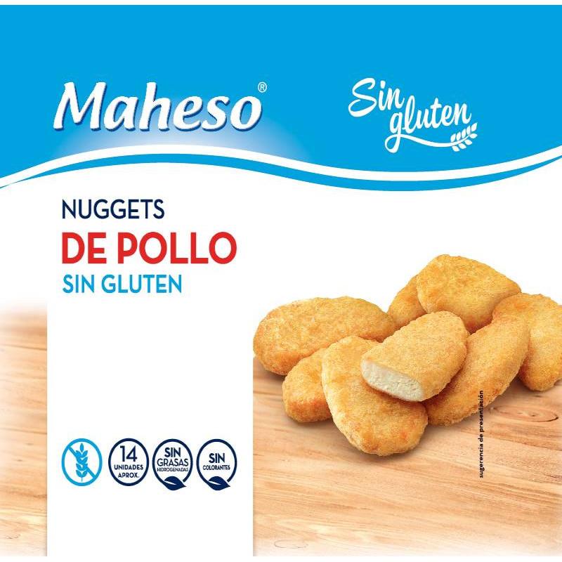 Nugget de Pollo sin Gluten 300gr.