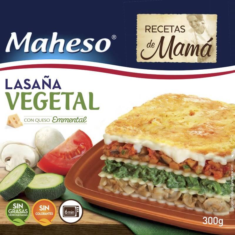 Lasaña Vegetal receta de mamá 300gr.