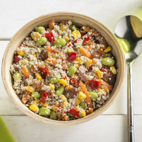 Quinoa con verduras bolsa 1kg.