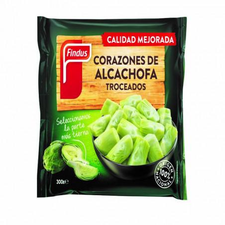 Alcachofa corazón trozos bolsa 300gr.