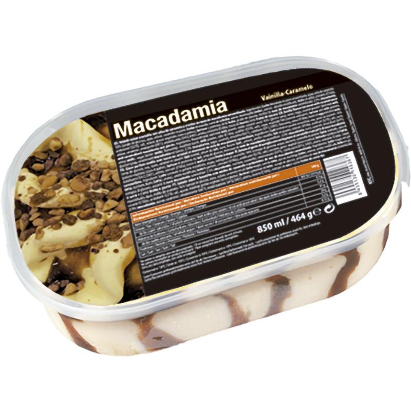 Tarrina Vainilla Nueces Macadamia 850ml.
