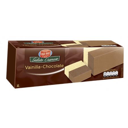 Bloque Vainilla-Chocolate 1L.