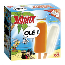 Polo Naranja-Limon Asterix 4+4