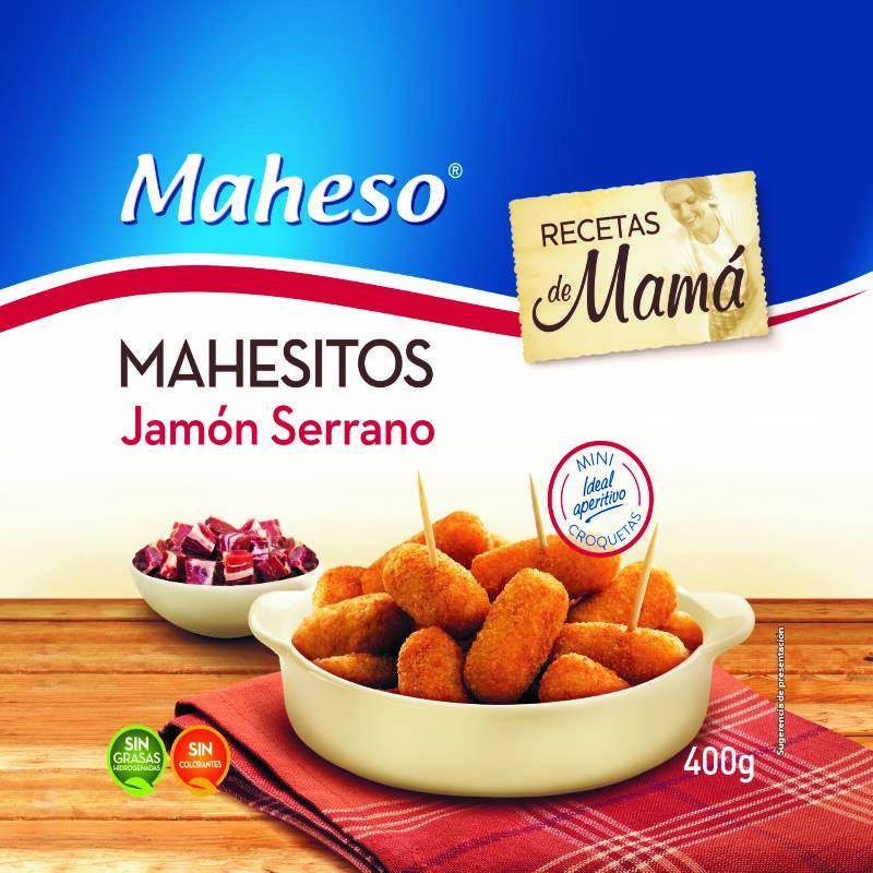 Mahesitos de jamón bolsa 400gr.