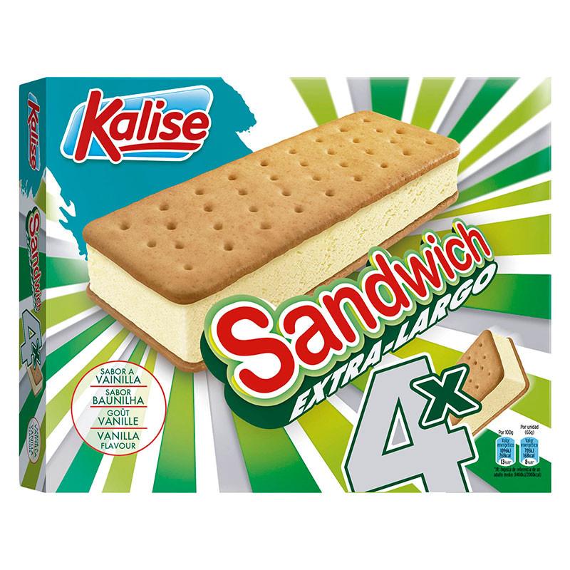 Sandwich Extra Largo pack 4unds.