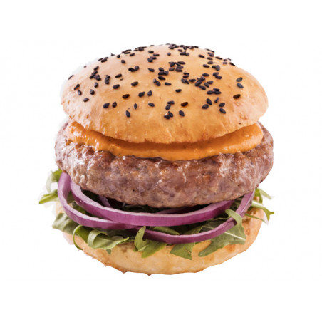 Mini Hamburguesa Ternera 55 gramos. Mini burguer sin gluten.