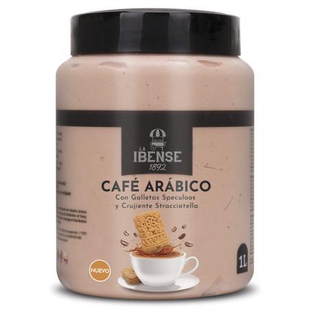 Bote Helado Cafe Arabico y Speculos 1L. de La Ibense.