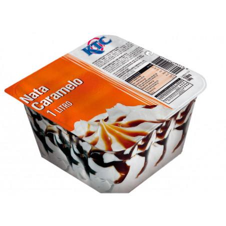 Tarrina 1L Nata y Caramelo