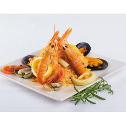 Preparado Paella sin verduras bolsa 1kg.