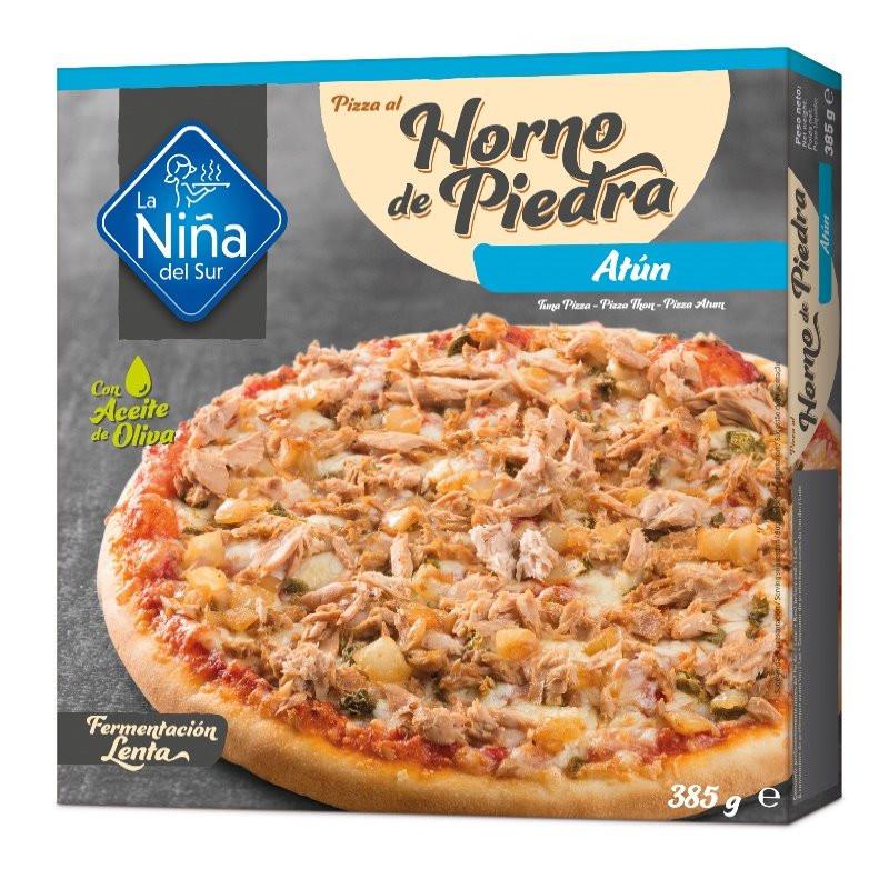 Pizza horno de piedra Atún 400gr.