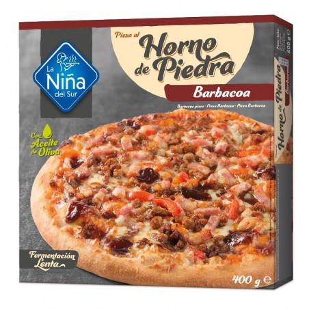 Pizza horno de piedra Barbacoa 400gr.