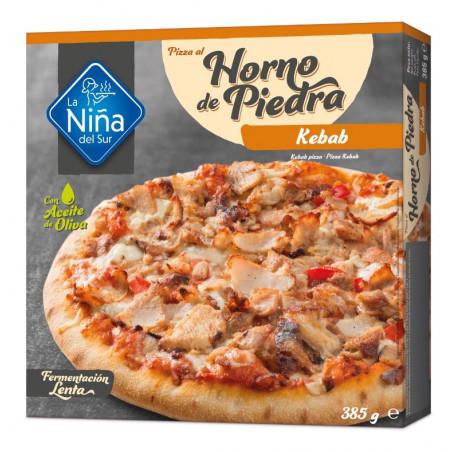 Pizza horno de piedra Kebab 400gr.