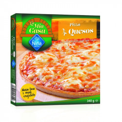 Pizza mia casa 4 Quesos